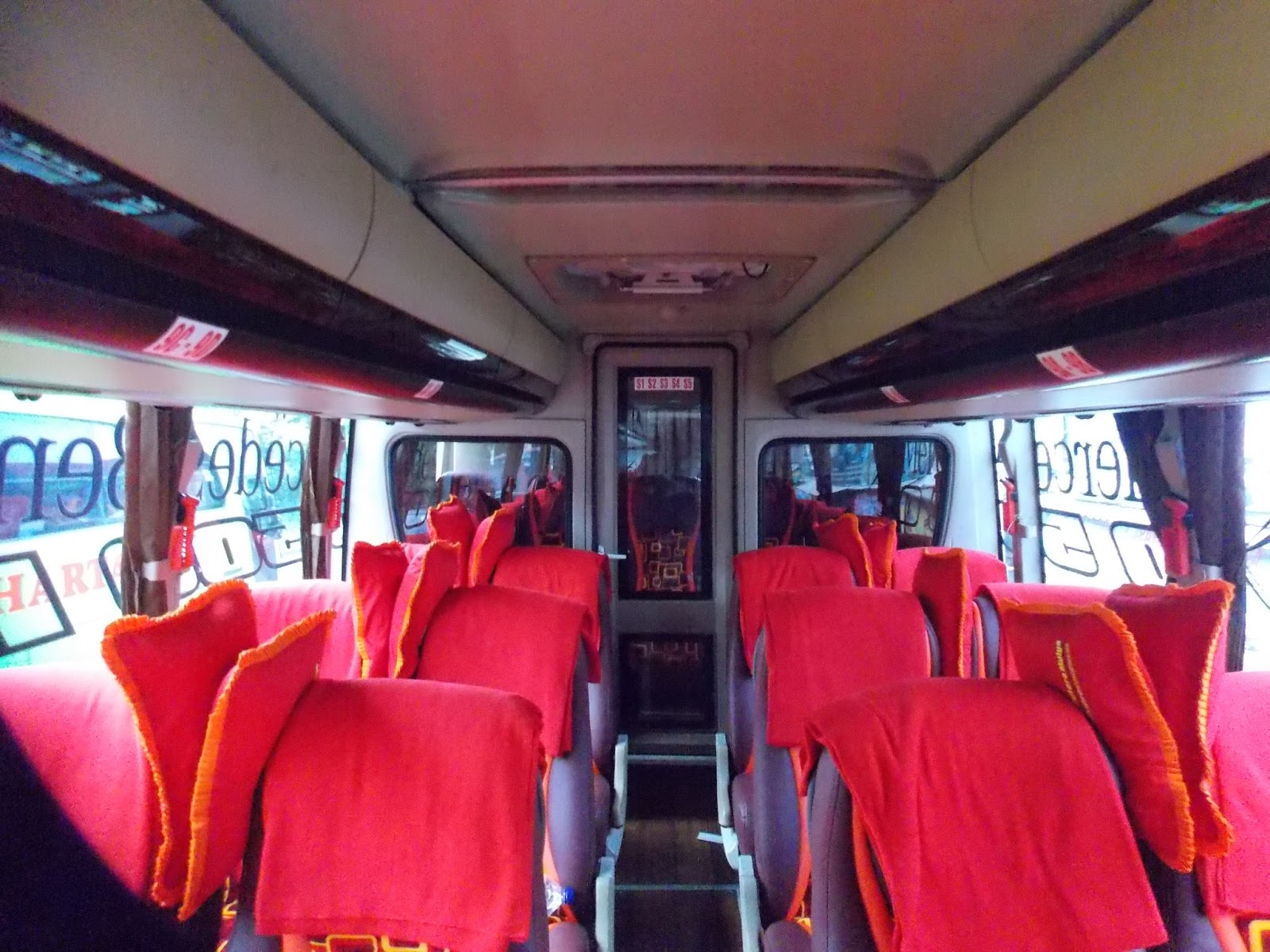 Interior seat Maxibus + Smoking Area